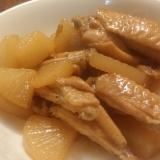 生姜と酢が隠し味♪手羽中と大根の煮物