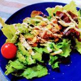 ゴーヤとツナコーンのグリーンサラダ
