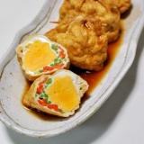 油揚げと卵の袋とじ煮