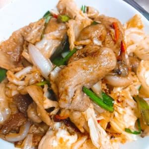 豚バラ焼き肉野菜炒め