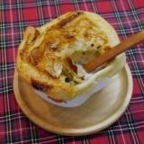 クリーミー☆クラムチャウダーのさくさくパイ包み焼き