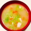 きゃべつの味噌汁