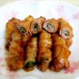 和風✿豚肉の大葉巻き
