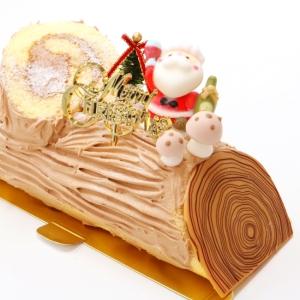 ブッシュ・ド・ノエル【クリスマスケーキ】