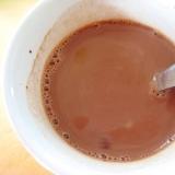 ホット豆乳ココア