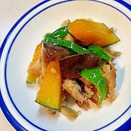 弁当のおかず!彩が綺麗な豚肉の野菜炒め