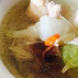 薬膳★鶏肉と冬瓜のスープ