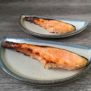 鮭の塩麹漬け焼き♪