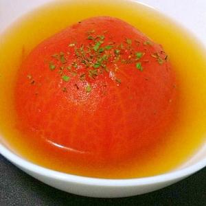 丸ごとトマトのスープ煮