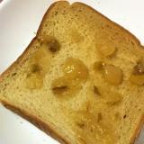 のっけパン☆洋梨トースト