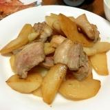 シャキシャキ☆ハヤトウリと豚バラ肉の炒め物