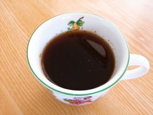 ナツメグとシナモンの黒蜜ジンジャーコーヒー