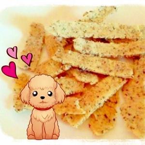 U◕ ᴥ ◕U愛犬も一緒に〜♪☆お煎餅風クッキー☆