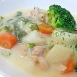 冬野菜のクリームシチュー