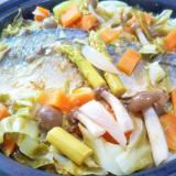 鯖味噌煮&彩り野菜のタジン蒸し