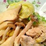 しょうがたっぷり!豚肉と白菜のしょうが味噌炒め♪