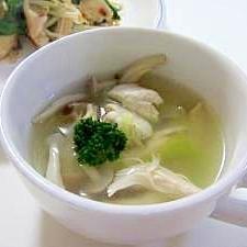しょうが入り中華スープ