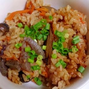 米ぬか入り炊き込みご飯