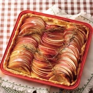 [ル・クルーゼ公式] りんごのローズマリータルト