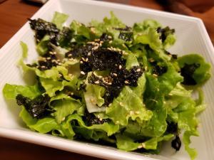 和えるだけ!レタスと韓国のりのサラダ