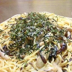 あっさり☆牡蠣のクリームスパゲティ