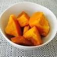 レンジで簡単かぼちゃ煮