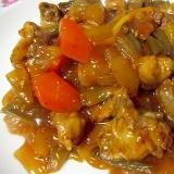 炒めてヘルシー たっぷり野菜の酢豚