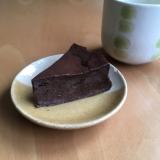 豆腐で♪生チョコケーキ