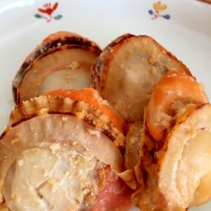 ホタテの味噌漬け焼き