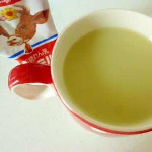 ☆粉末緑茶で♪ 緑茶ラテ☆