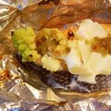 鮭とロマネスコのホイル焼き