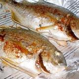 ホットプレートを使った焼き魚 魚の焼き方 鯛やアジ