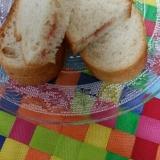 子供の朝食に☆いちごジャムサンドプレート