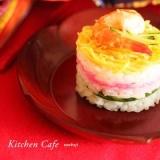 ひな祭りに♪ちらし寿司のミルフィーユ