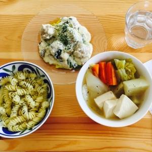 つみれの豆腐クリーム煮