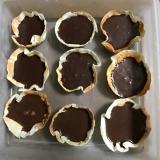 餃子の皮で生チョコタルト