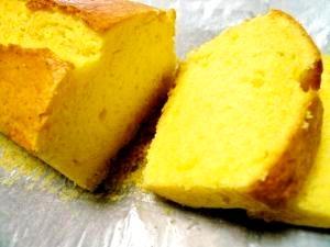 HMで簡単☆ふわッふわ生クリームのパウンドケーキ♪