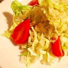 ちょっと贅沢に♪ 白菜とチーズのサラダ