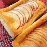 冷凍パイシートで簡単アップルパイ