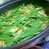 キムチラーメン鍋