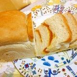 手作りゆず茶ジャム入り山食パン♪