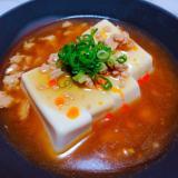 酸辣温豆腐