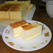 倹約チーズケーキ