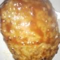鶏と合い挽き肉でハンバーグ