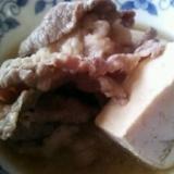 しょうが香る☆肉豆腐