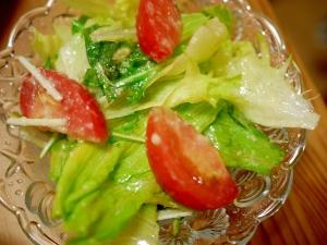 手作りドレッシングで!簡単サラダ