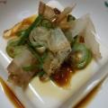 レンジで簡単、冬場には湯豆腐