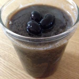 黒豆ブラマンジェ