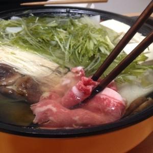 我が家流〜〜★牛肉のしゃぶしゃぶ(*^^*)