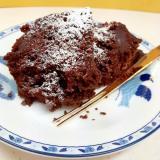 電子レンジで(^^)『ミロ』入り簡単チョコケーキ♪